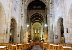 Interno della st Georges Cathedral a Cape Town fotografia stock