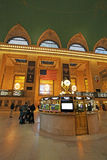 Interno della stazione ferroviaria di Grand Central, New York, U.S.A. Fotografia Stock Libera da Diritti