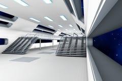 Interno della stazione spaziale Fotografie Stock