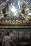 Interno della tomba di Daniel in Sush fotografia stock