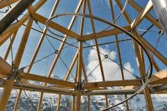 Interno della torre di osservazione di Swarowski al Grossglockner in Austria Fotografia Stock Libera da Diritti