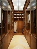 Interno dello spogliatoio nello stile classico Immagine Stock