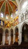 Interno di Almudena Cathedral Immagine Stock Libera da Diritti