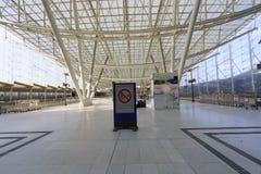 Interno di Charles de Gaulle Airport Immagini Stock