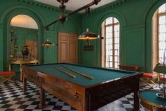 Interno di Chateau de Malmaison, Francia Fotografia Stock