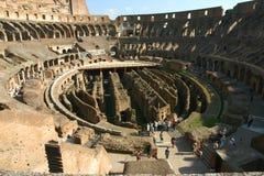 Interno 2 di Colosseum Fotografie Stock