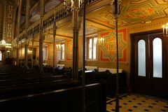 Interno di Coral Temple - parete laterale Fotografia Stock Libera da Diritti