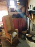 Interno di crofthouse Fotografia Stock