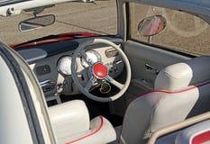 Interno di figaro di Nissan Fotografie Stock
