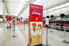 Interno di Hong Kong International Airport Fotografia Stock Libera da Diritti
