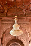 Interno di Jama Masjid Mosque Fotografia Stock Libera da Diritti