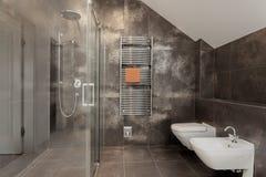 Interno di lusso del bagno fotografia stock libera da diritti