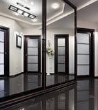 Interno di lusso del corridoio Fotografia Stock Libera da Diritti