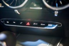 Interno di nuovo coupé di Audi TT a Singapore Motorshow 2015 Fotografia Stock