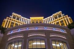 Interno di Palazzo - di Las Vegas Fotografia Stock
