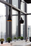 Interno di progettazione della lampada Fotografia Stock