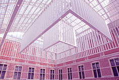 Interno di Rijksmuseum a Amsterdam, Paesi Bassi Fotografia Stock Libera da Diritti