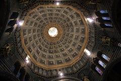 Interno di Siena dei Di del Duomo Immagini Stock