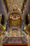 Interno di St Peter e della st Paul Basilica a Pecs Ungheria Immagini Stock