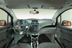 Interno di un'automobile moderna Fotografie Stock