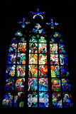 Interno di Vitus Cathedral del san Fotografie Stock