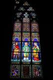 Interno di Vitus Cathedral del san Fotografia Stock