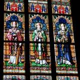 Interno di Vitus Cathedral del san Fotografie Stock Libere da Diritti