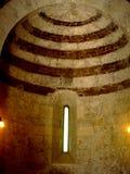Interno do eremitério de Montesiepi imagens de stock royalty free