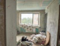 Interno domestico che ritocca fotografie stock libere da diritti