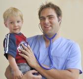 Interno e criança fotografia de stock royalty free
