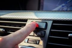 Interno e dettagli dell'automobile immagini stock