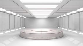 Interno futuristico immagini stock libere da diritti