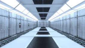 Interno futuristico Fotografie Stock