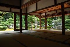 Interno giapponese tradizionale Fotografia Stock Libera da Diritti