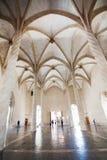 Interno gotico di Llotja della La Immagini Stock