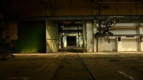 Interno industriale abbandonato