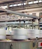 Interno industriale, imballante fotografia stock