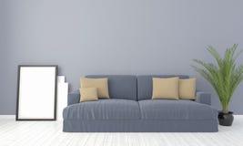Interno luminoso moderno 3d rendono Immagine Stock Libera da Diritti