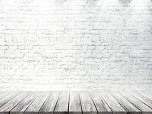 Interno luminoso vuoto 3d rendono Immagine Stock