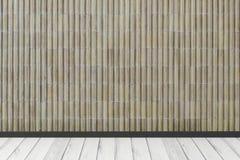 Interno moderno con la parete in bianco Fotografia Stock
