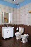 Interno moderno del bagno Fotografie Stock Libere da Diritti