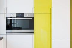 Interno moderno della cucina Fotografia Stock Libera da Diritti