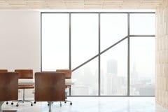 Interno moderno della sala del consiglio Fotografia Stock