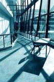 Interno moderno di architettura Fotografie Stock