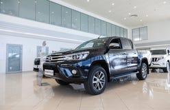 Interno nell'ufficio del commerciante ufficiale Toyota Fotografia Stock