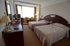Doppio della camera di albergo Fotografie Stock Libere da Diritti