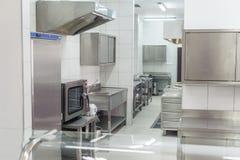 Interno professionale della cucina immagine stock