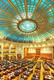 Interno rumeno del senato Fotografia Stock