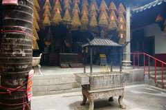 Interno. Tempiale di Kun Iam, Macau. Fotografia Stock Libera da Diritti