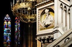 Interno votivo della chiesa di Vienna fotografie stock